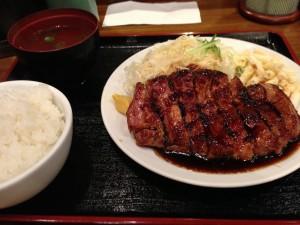 豚々亭トンテキ定食