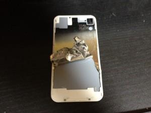 iPhoneバックパネル分解