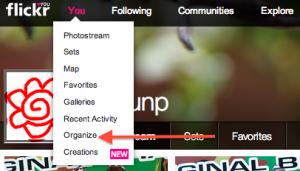 Flickr一括削除 1