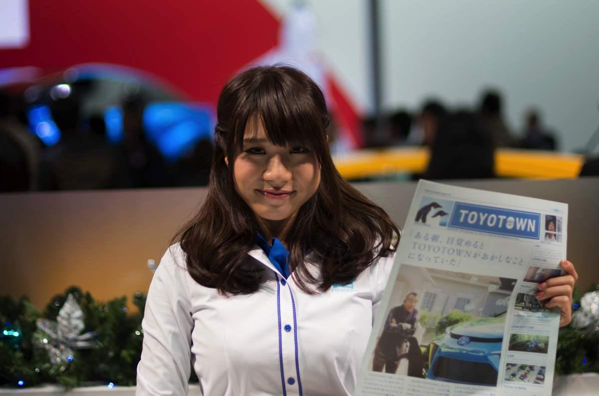 大阪モーターショー2013年コンパニオン2