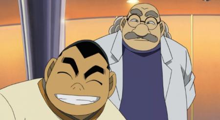 阿笠博士あの方笑顔