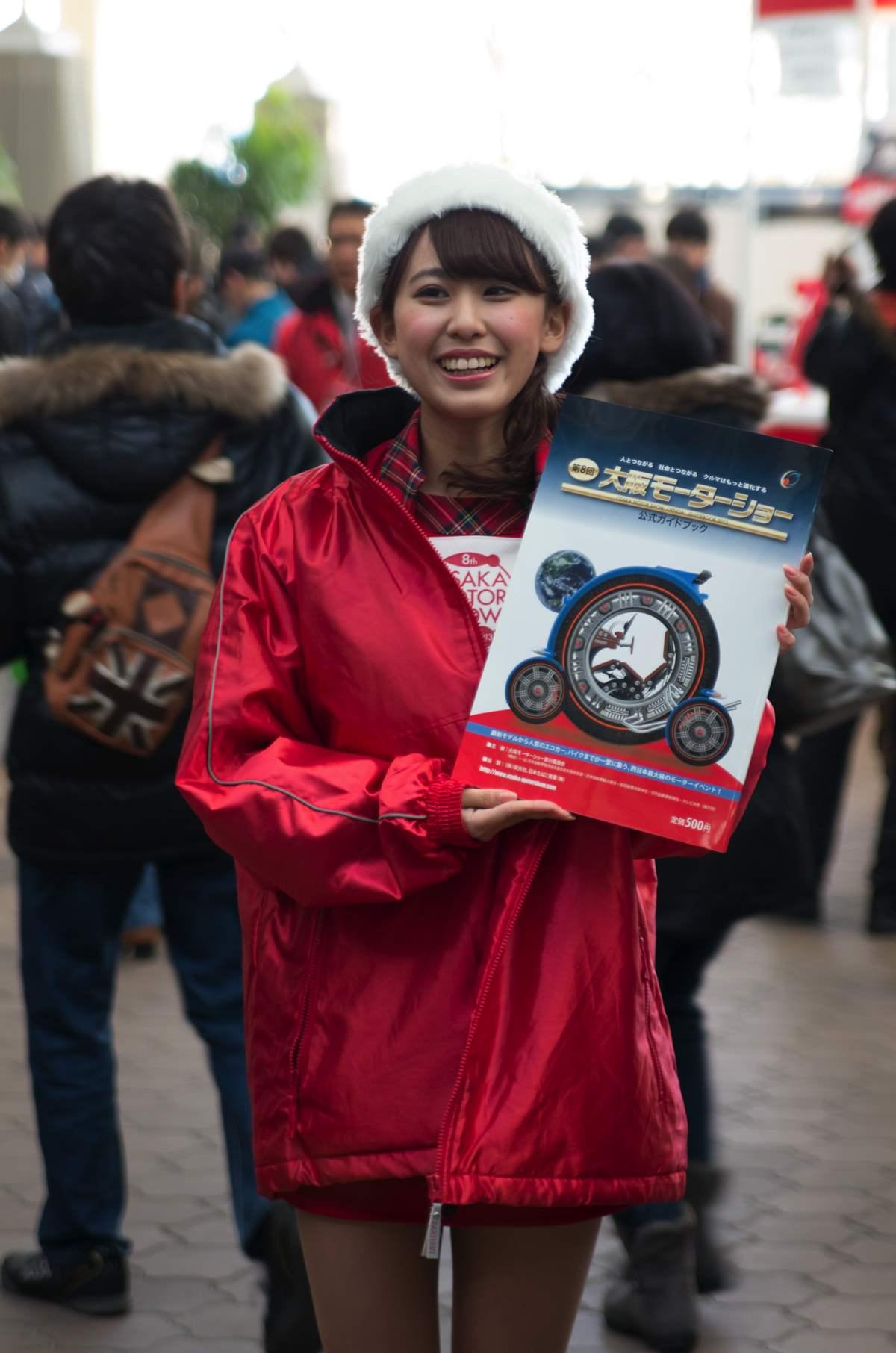 大阪モーターショー2013年コンパニオン1