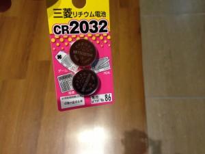 ダイソー三菱cr2032