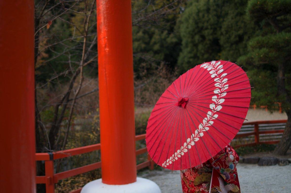 下鴨神社糺の森紅葉4