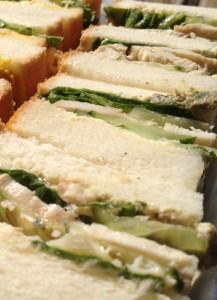 塩鶏サンドイッチ