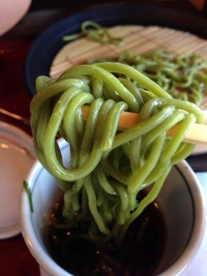 中村藤吉茶うどん麺