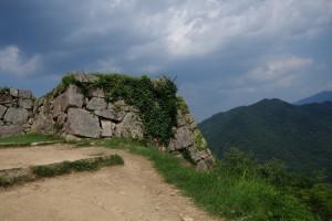 竹田城石段