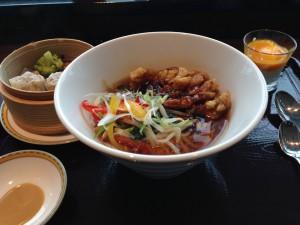 麺点庁唐揚げ麺セット